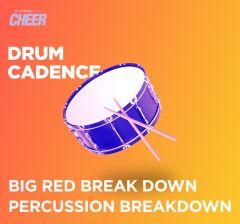 Big Red Break Down Percussion Breakdown